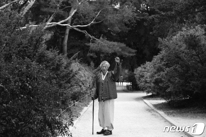 고 백기완 통인문제연구소장(통일문제연구소 제공) © 뉴스1