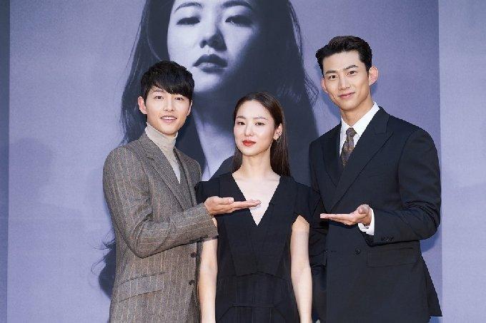 배우 송중기 전여빈 옥택연/tvN '빈센조' 제공 © 뉴스1