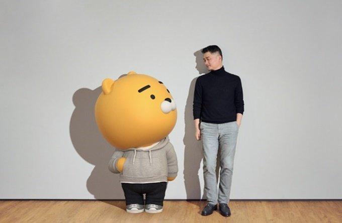 라이언과 브라이언(김범수 카카오 이사회 의장) /사진제공=카카오브런치