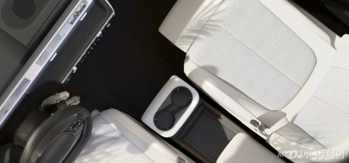 아이오닉 5 내부 티저 이미지/사진제공=현대차