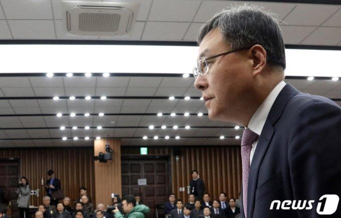 (서울=뉴스1) = 신현수 청와대 민정수석. (뉴스1 DB) 2020.12.31/뉴스1