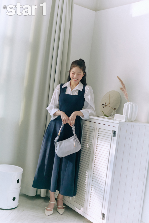 그룹 신화 전진 아내 류이서/사진제공=앳스타일