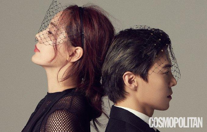 배우 유진 박은석/코스모폴리탄 제공© 뉴스1