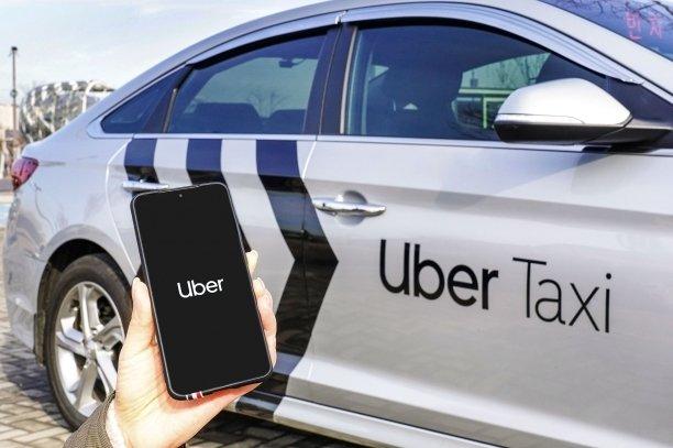 우버 택시.