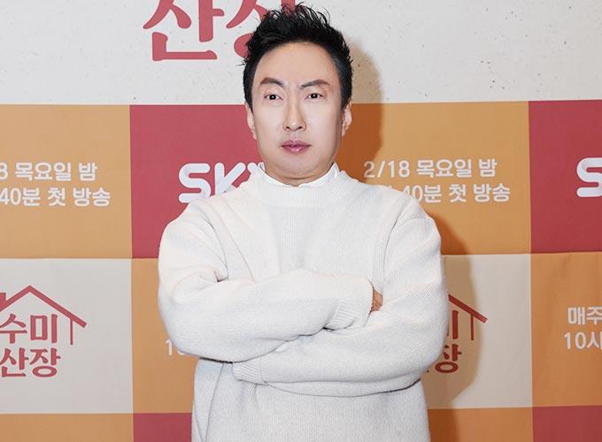개그맨 박명수/사진제공=SKY TV