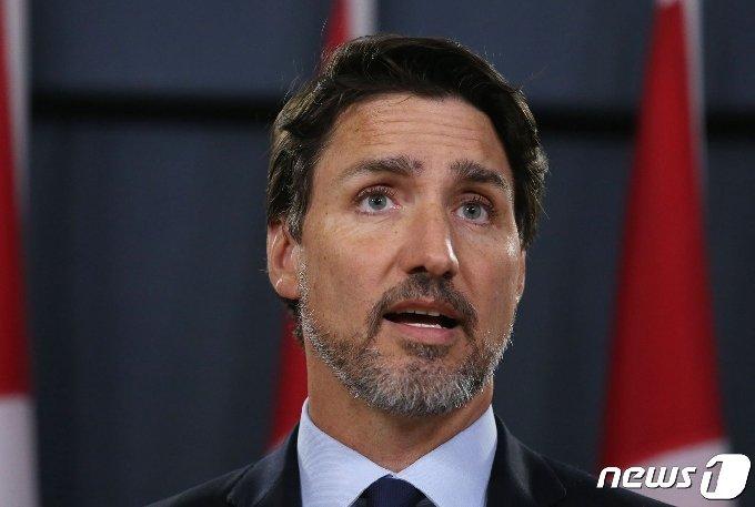 저스틴 트뤼도 캐나다 총리. © AFP=뉴스1 © News1 우동명 기자