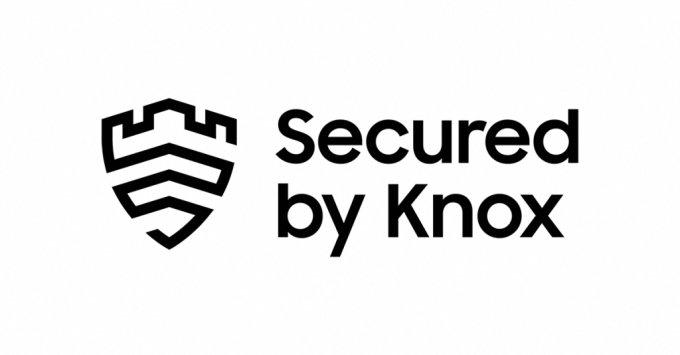 삼성전자 독자 모바일 보안 플랫폼 '삼성 녹스' 로고 /사진=삼성전자
