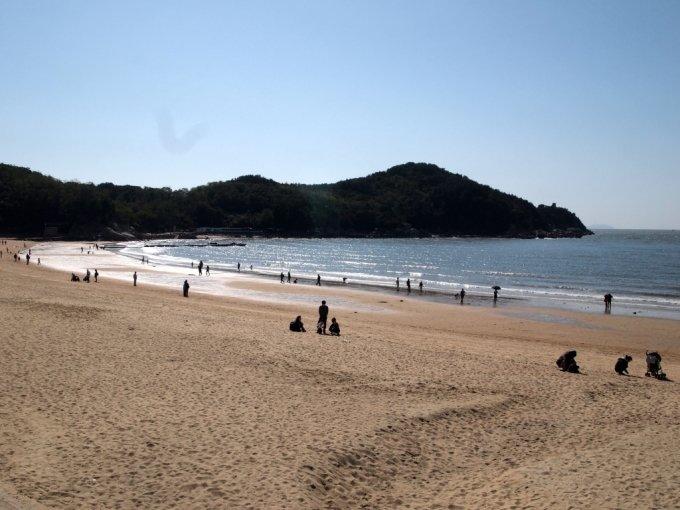 지난해 티맵 관광지 검색건수 2위를 차지한 을왕리 해수욕장. /사진=한국관광공사