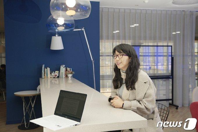 오는 3월 서울대학교 화학교육과 교수 임용을 앞두고 있는 김진영 박사.(UNIST 제공) © 뉴스1