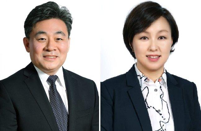 오상호 디즈니 코리아 신임대표(왼쪽)와 김소연 DTC 사업부 총괄. /사진=디즈니