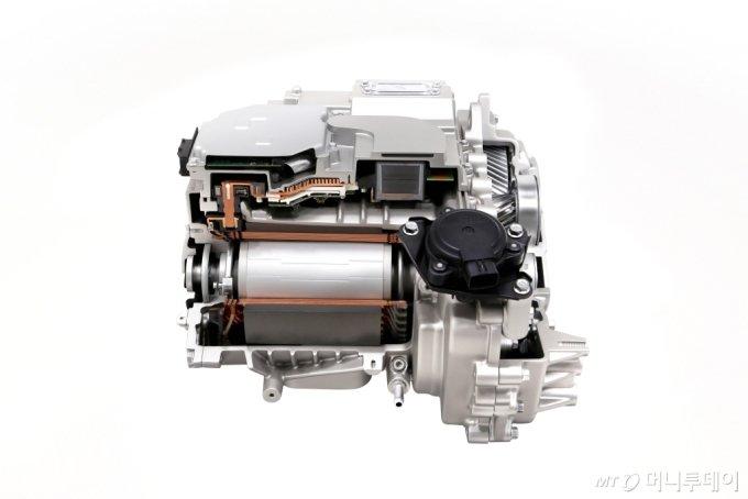 현대차그룹의 전기차 전용 플랫폼 E-GMP 적용 후륜모터 시스템/사진제공=현대차