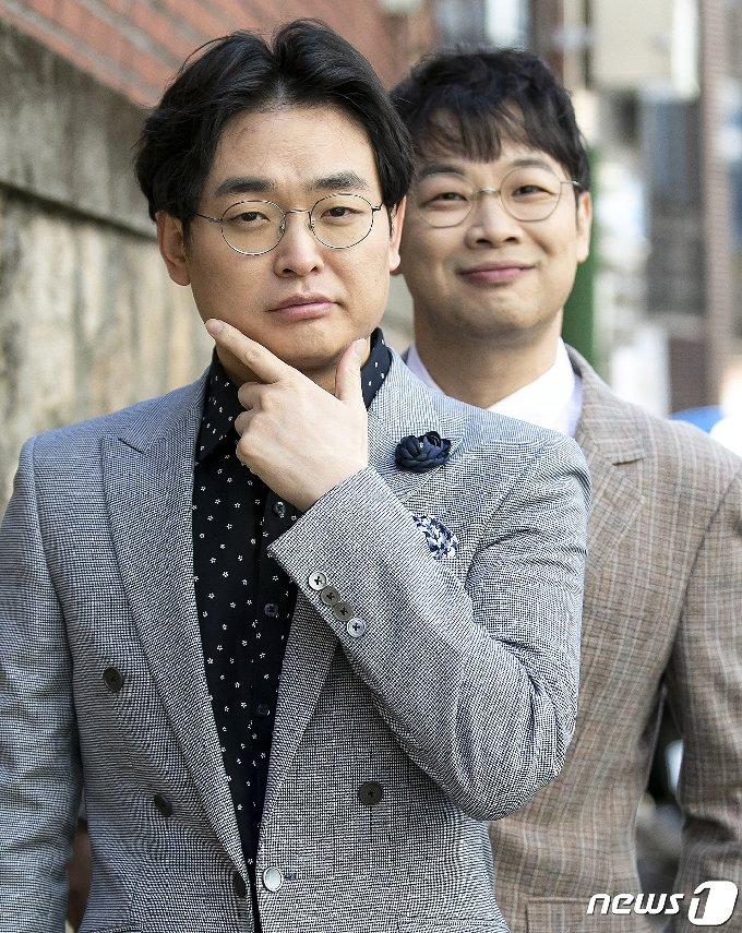 개그맨 박영진과 권재관 © News1 김진환 기자