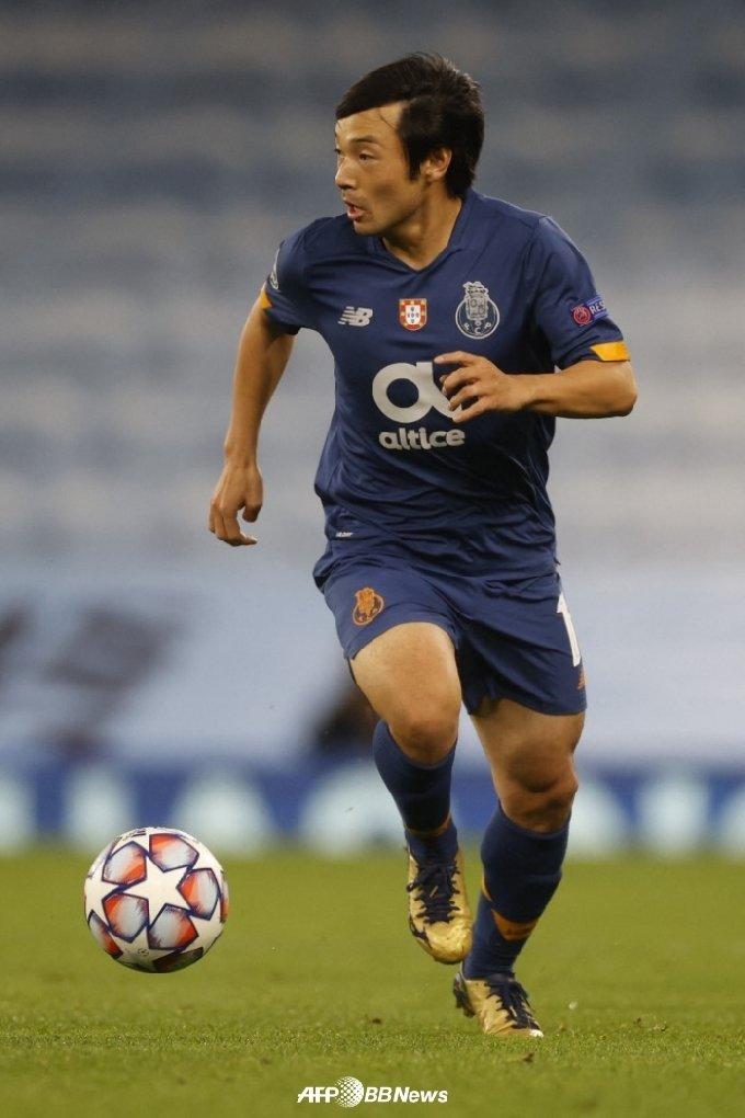 FC 포르투 시절의 나카지마. /AFPBBNews=뉴스1