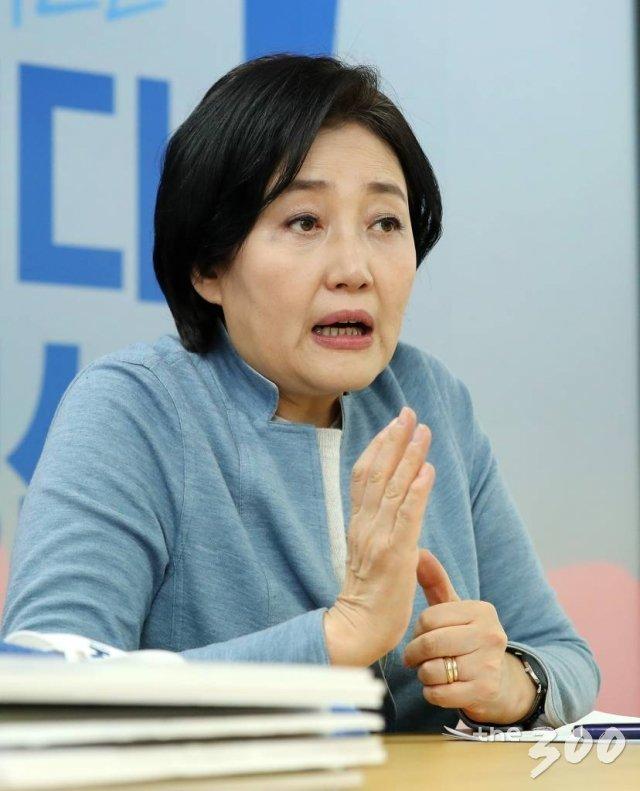 박영선 더불어민주당 서울시장 경선 후보 인터뷰
