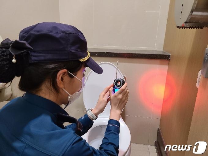 경기북부 지하철경찰대, 76개 역사 화장실 몰카 점검