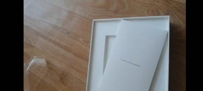 빈 상자가 왔다는 글에 첨부된 제품 개봉 영상 캡처/사진=온라인커뮤니티