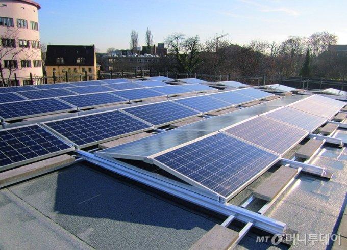 태양광은 그린수소의 주요 에너지원 중 하나로 손꼽힌다./사진=한화솔루션