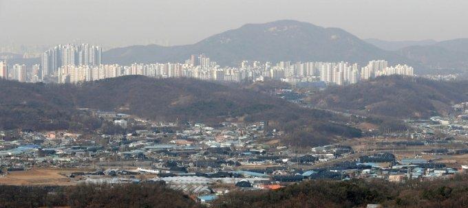 6번째 3기 신도시 지역으로 지정된 경기 광명시흥지구 전경. /사진제공=뉴시스