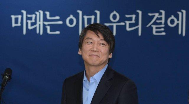 2012년 12월 3일 안철수 전 무소속 대선후보가 서울 종로구 공평동 진심캠프에서 열린 캠프 해단식에 참석해 인사말을 하고 있다. /사진=뉴스1.