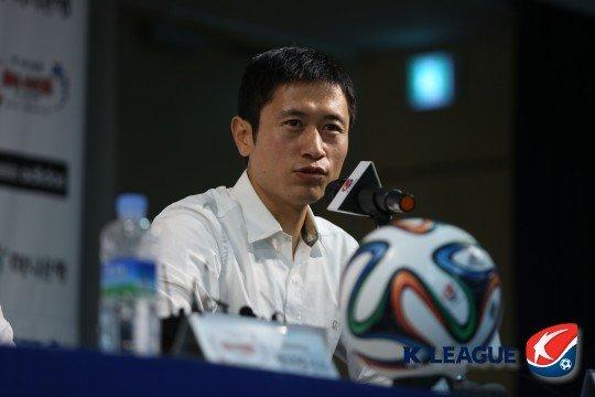 이영표. /사진=한국프로축구연맹 제공