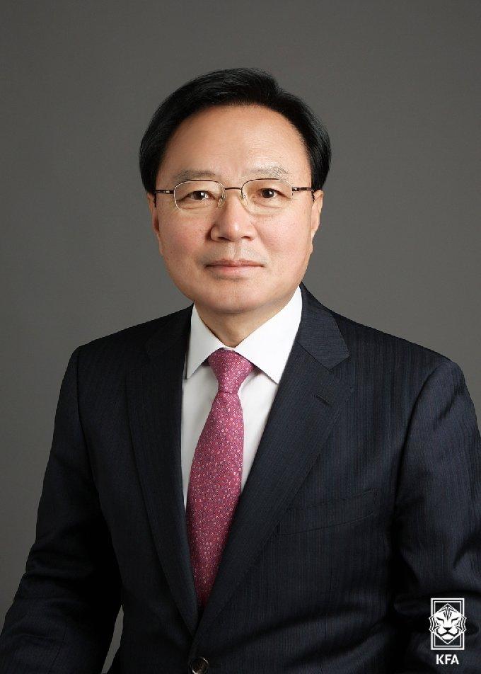 김기홍 전 평창조직위 부위원장. /사진=대한축구협회 제공