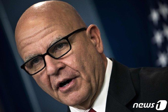 H.R. 맥매스터 전 국가안보회의(NSC) 보좌관 © AFP=뉴스1