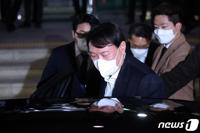 [사진] 대구 방문 마친 윤석열 검찰총장