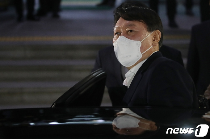 [사진] 윤석열 검찰총장, 대구 방문 종료