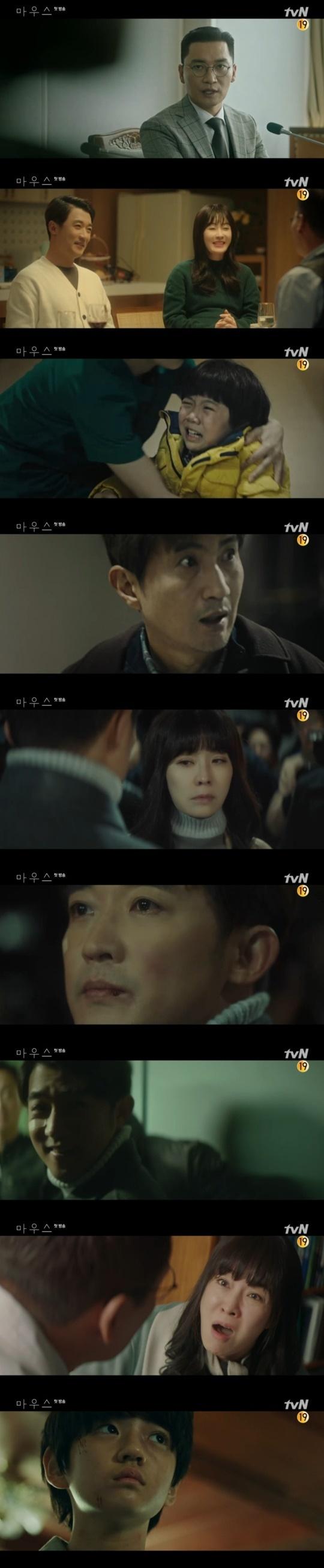 첫방 '마우스' 안재욱, 헤드헌터 살인마였다…'사이코패스' 김강훈(종합)