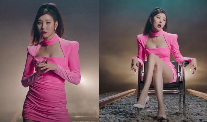 /사진=선미 '꼬리' 뮤직비디오