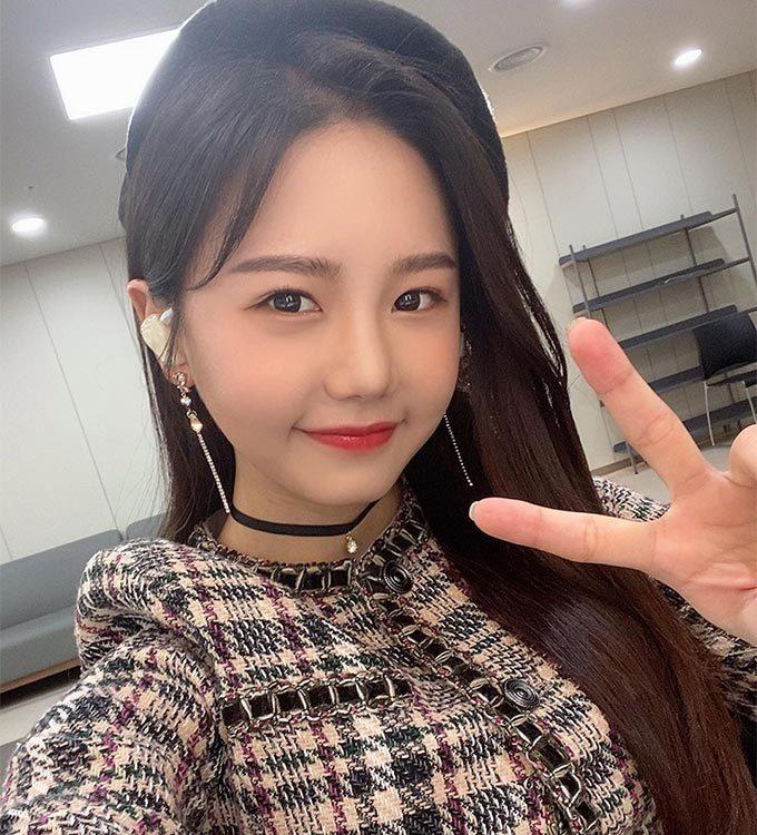 가수 송하예/사진=송하예 인스타그램
