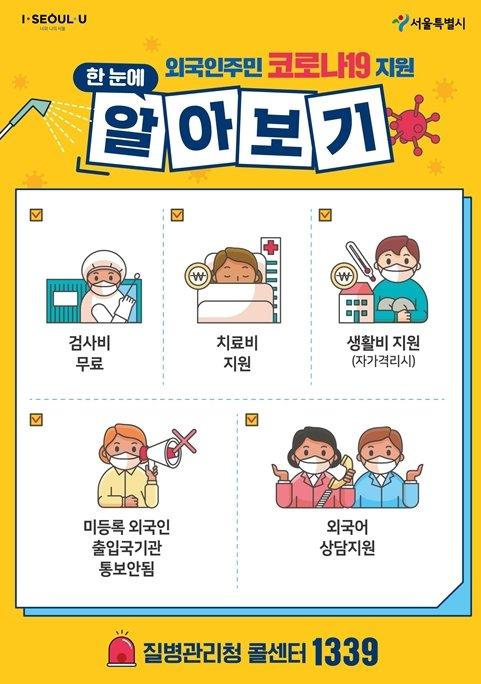 """""""구로·금천·영등포 선제검사 독려""""…서울시, 외국인 감염차단 총력"""