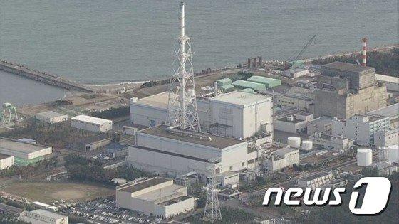 2011년 동일본 대지진 이후 가동이 중단된 이바라키현 도카이 제2원자력발전소 건물 지하 바닥에 방사성 폐수가 누출된 것으로 나타났다. (NHK 캡처) © News1