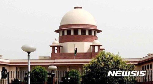 인도 대법원 전경. /사진=뉴시스