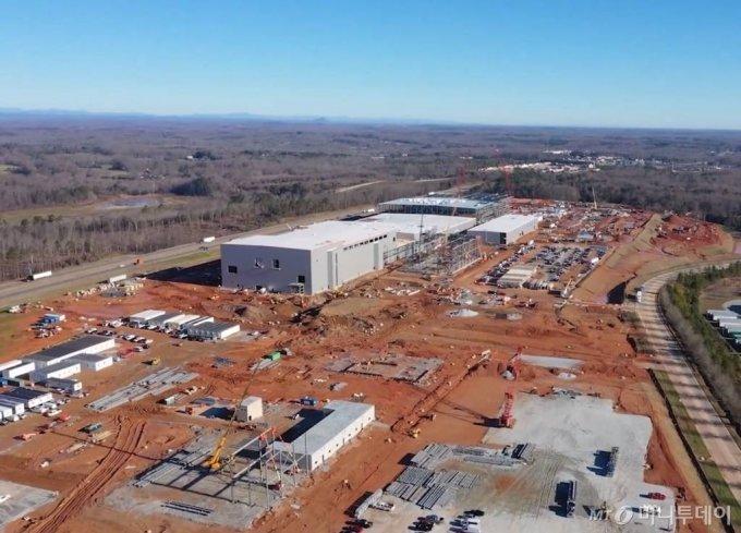 SK이노베이션 미국 조지아주 제1 배터리 공장 건설현장/사진제공=SK이노베이션