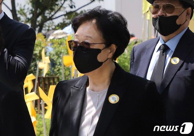 한명숙 전 국무총리2020.5.24/뉴스1 © News1 여주연 기자
