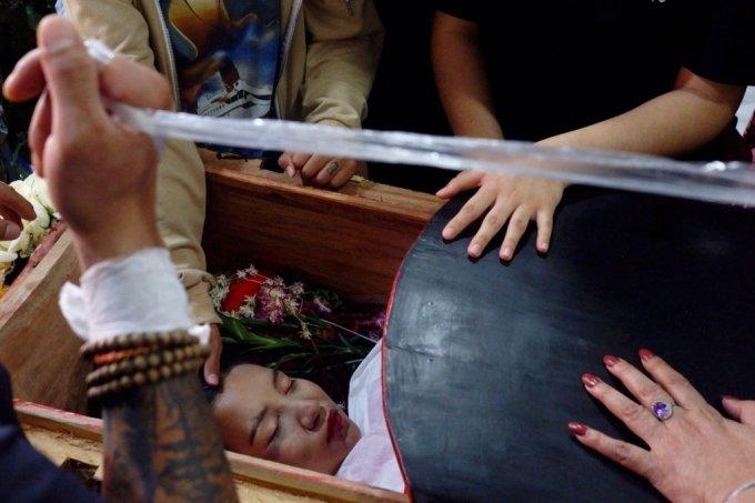 치알 신의 장례식./사진=로이터