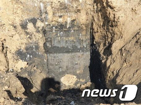 시흥 월곶동, 방산동 공터 일대서 발견된 폐기물.(시흥시 제공)© 뉴스1