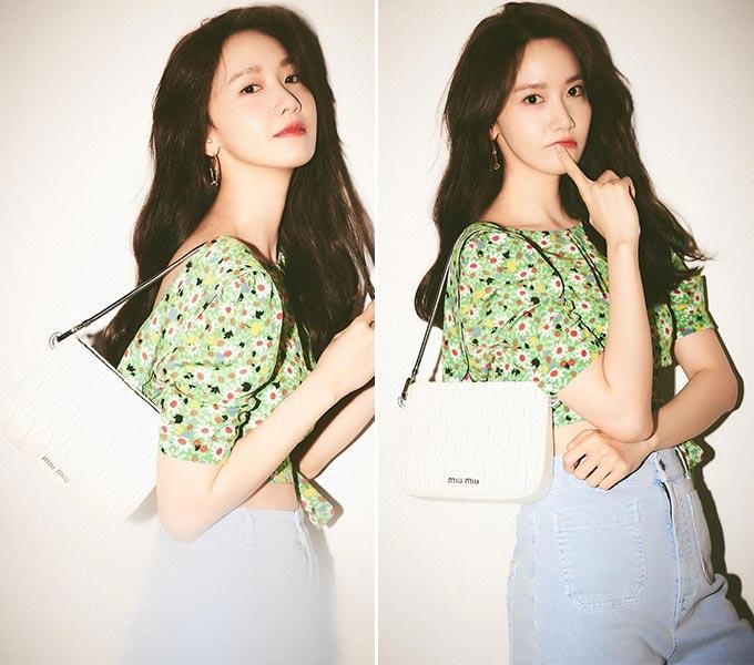 가수 겸 배우 윤아/사진=윤아 인스타그램, 미우미우(Miu Miu)