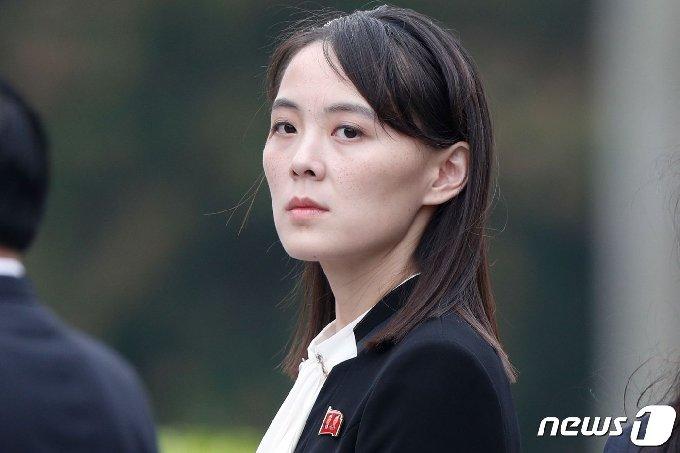 김여정 북한 노동당 부부장. © AFP=뉴스1