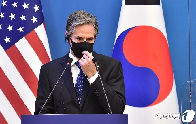 토니 블링컨 미국 국무장관. 2021.3.18/뉴스1 © News1 사진공동취재단