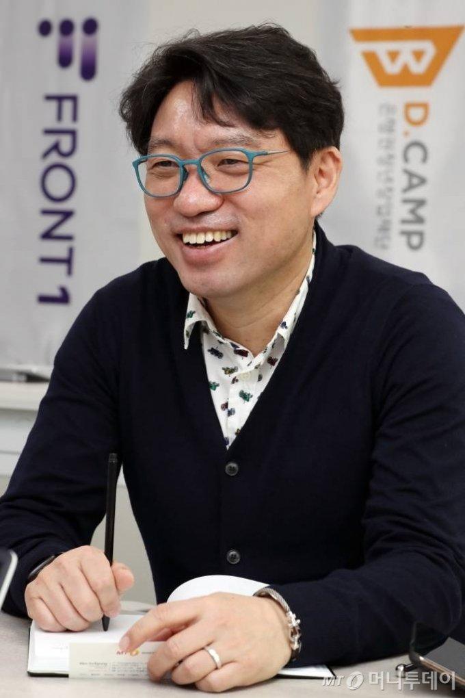 김영덕 프론트원 센터장 인터뷰 /사진=이기범 기자 leekb@