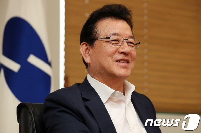 정순균 서울 강남구청장. 2018.8.20/뉴스1 © News1 황기선 기자