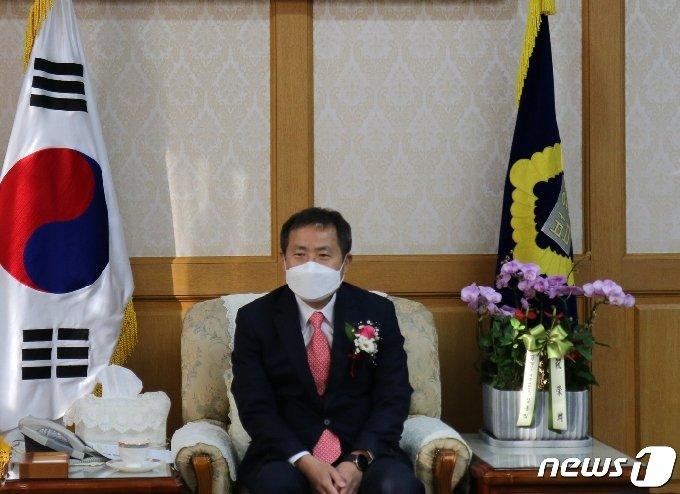강영수 제31대 인천지방법원장(인천지법 제공)2021.2.9/뉴스1 © News1 박아론 기자