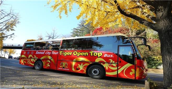 서울시티투어버스 운행 버스 모습./사진제공=서울시