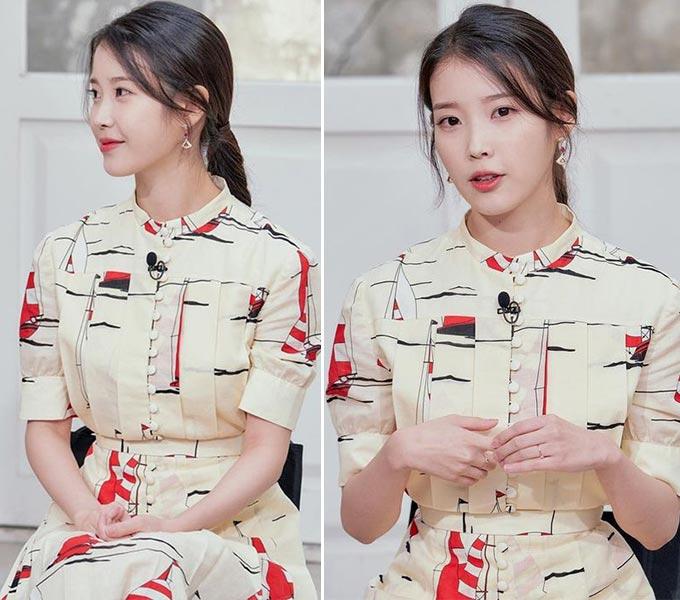 가수 겸 배우 아이유/사진=tvN '유 퀴즈 온 더 블럭' 공식 인스타그램