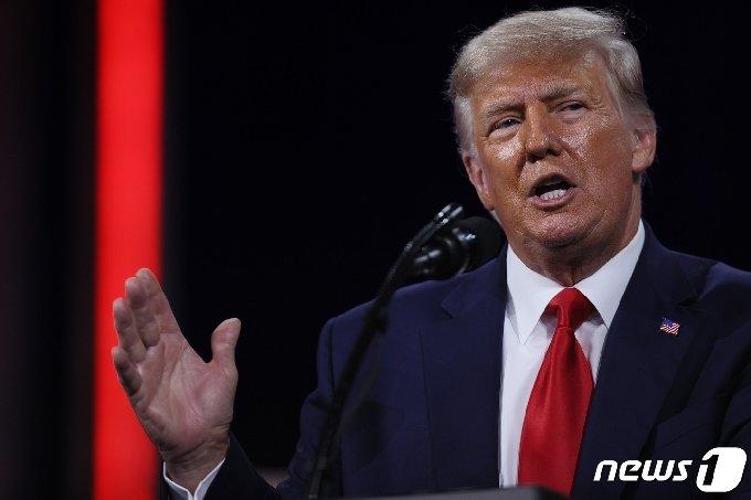 도널드 트럼프 전 미국 대통령. © AFP=뉴스1 © News1 자료사진