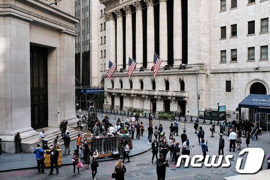 월스트리트. © AFP=뉴스1
