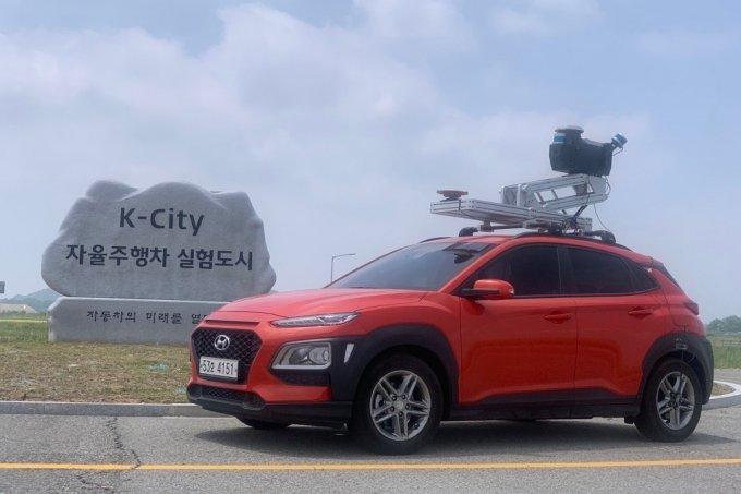 스트리스 정밀지도 구축차량 /사진제공=스트리스
