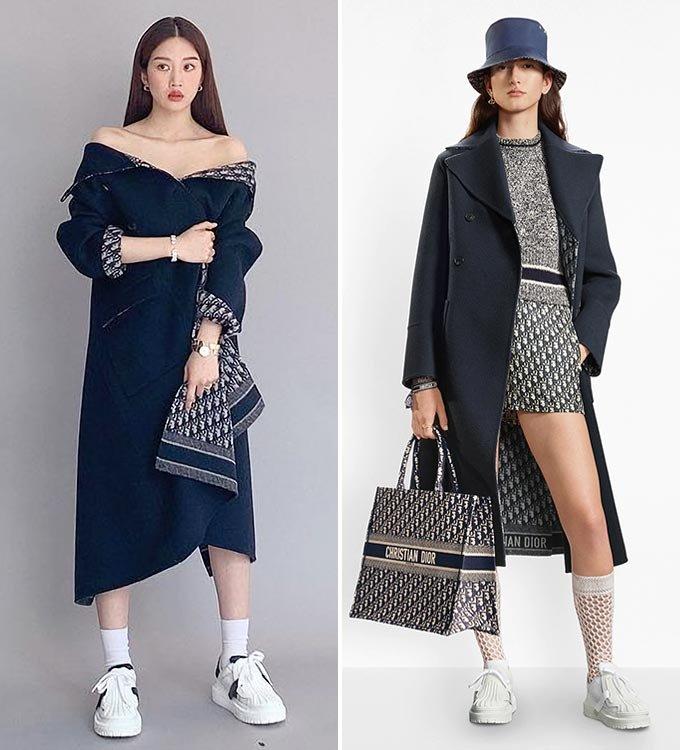 배우 문가영/사진=문가영 인스타그램, 디올(Dior)